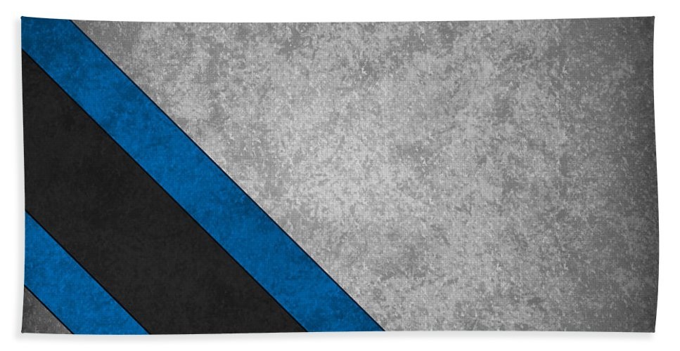 Panthers Beach Towel featuring the photograph Carolina Panthers by Joe Hamilton