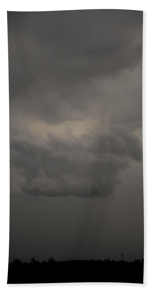 Stormscape Beach Towel featuring the photograph Let The Storm Season Begin 11 by NebraskaSC