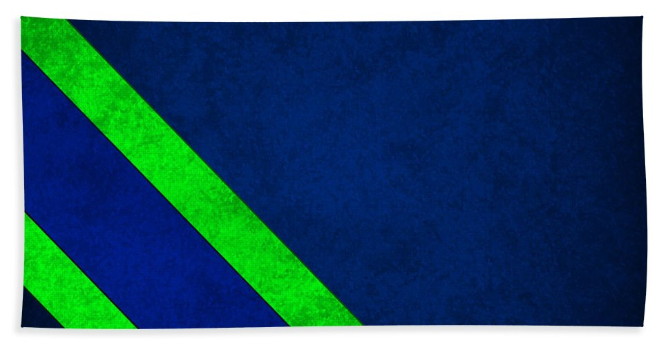 Seahawks Beach Towel featuring the photograph Seattle Seahawks by Joe Hamilton