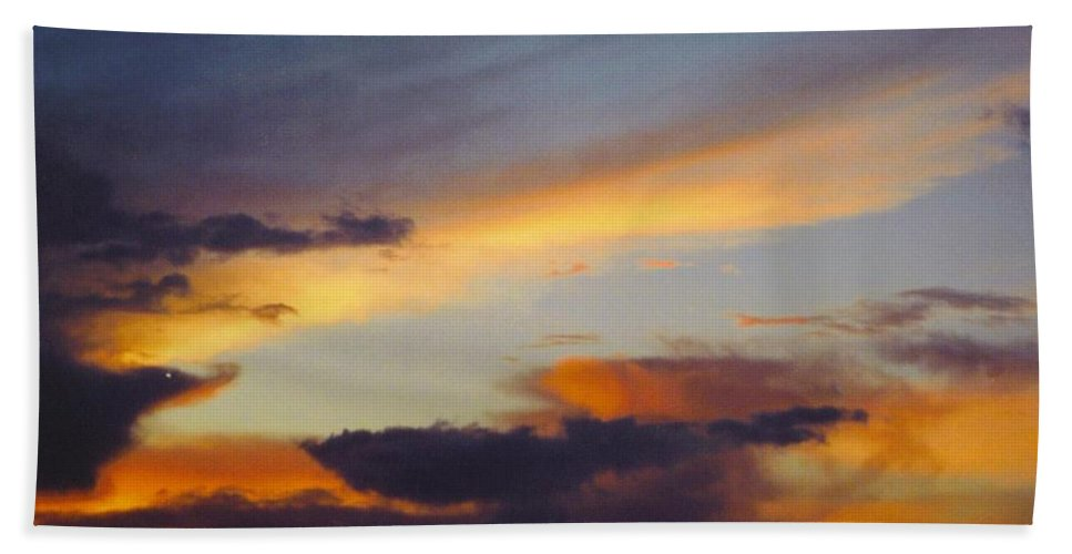 Multi Colors Beach Towel featuring the photograph Sky Scape by Robert Floyd