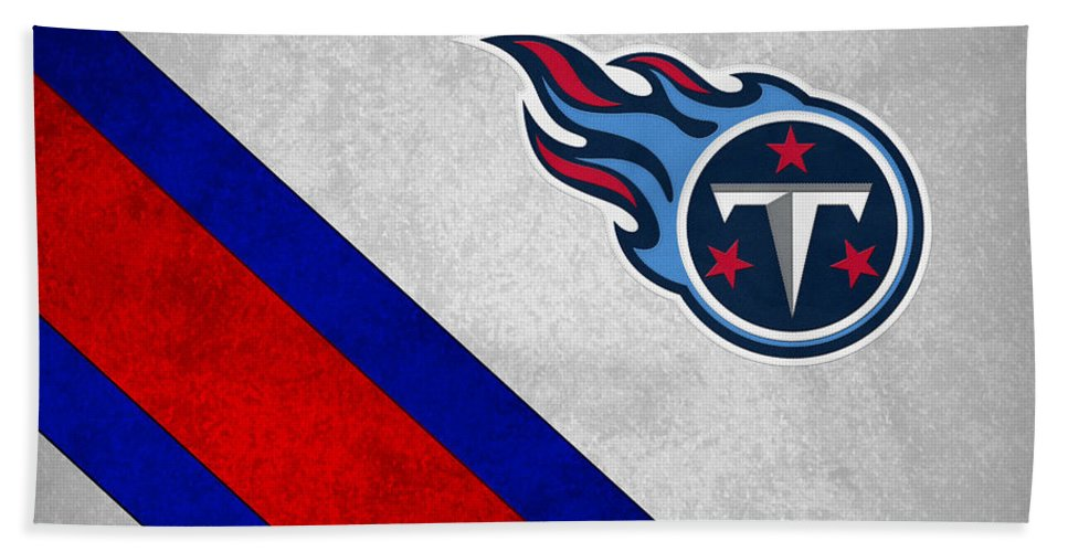 Titans Beach Towel featuring the photograph Tennessee Titans by Joe Hamilton