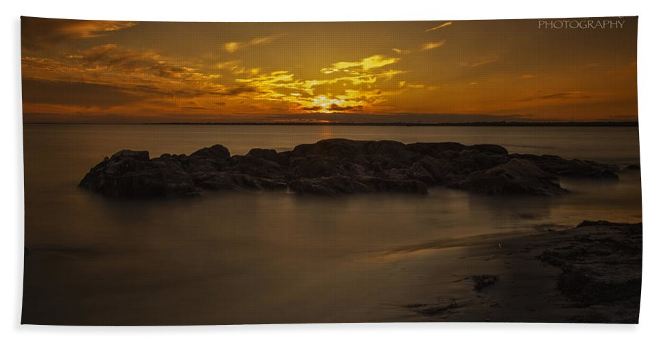 Sunset Beach Towel featuring the photograph 235 by Rrea Brown