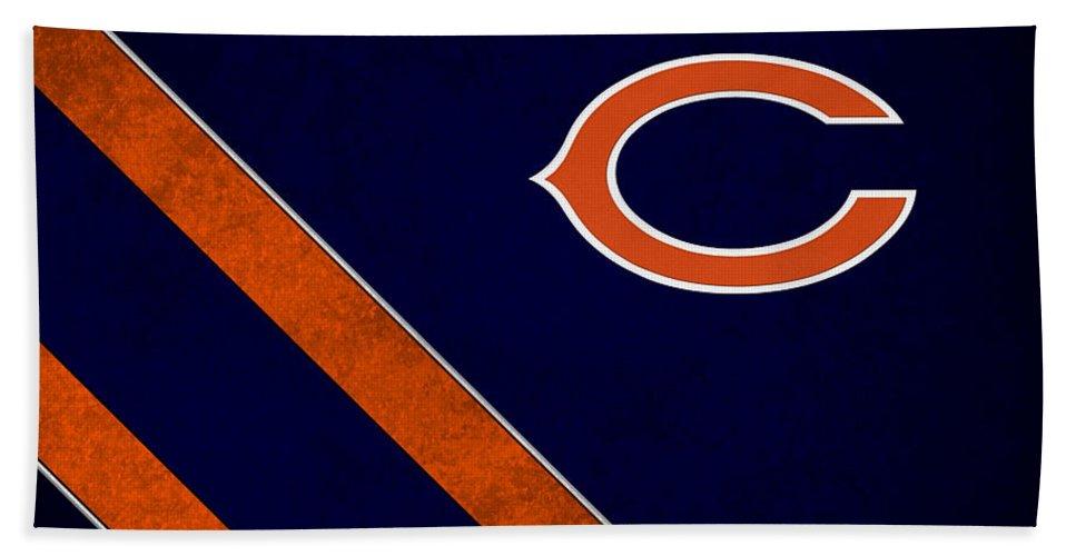 Bears Beach Towel featuring the photograph Chicago Bears by Joe Hamilton