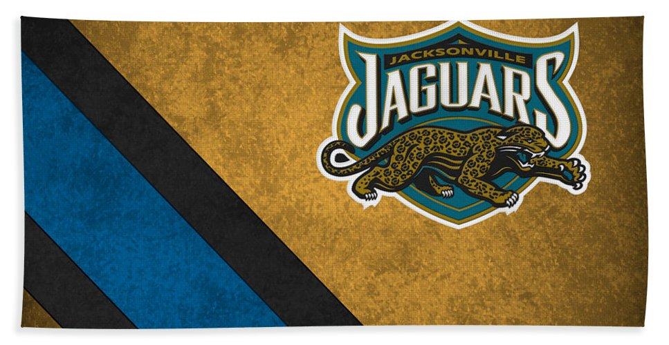 Jaguars Beach Towel featuring the photograph Jacksonville Jaguars by Joe Hamilton