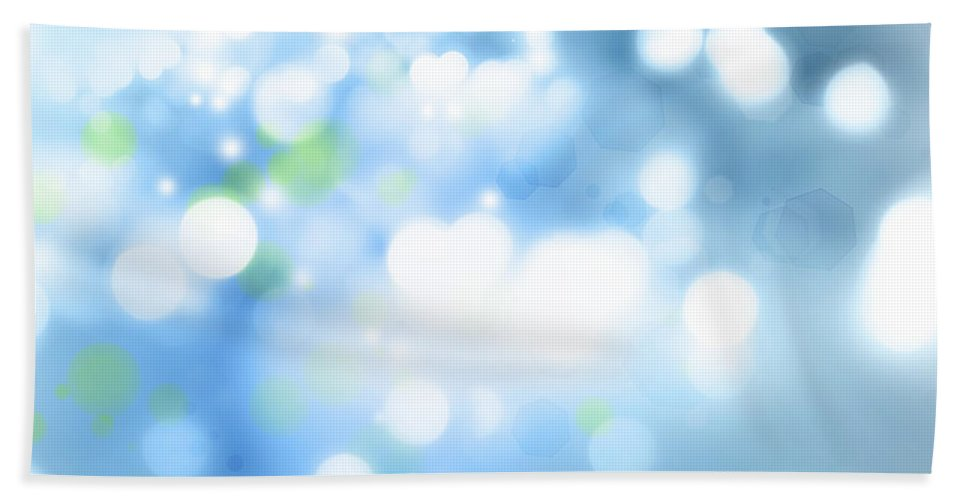 Abstract Beach Towel featuring the photograph Abstract Background by Les Cunliffe
