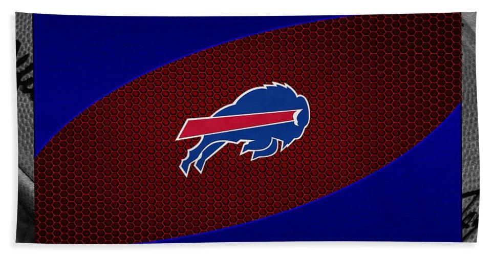 Bills Beach Towel featuring the photograph Buffalo Bills by Joe Hamilton