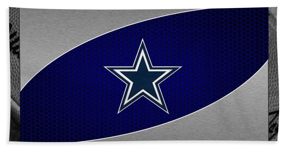 Cowboys Beach Towel featuring the photograph Dallas Cowboys by Joe Hamilton