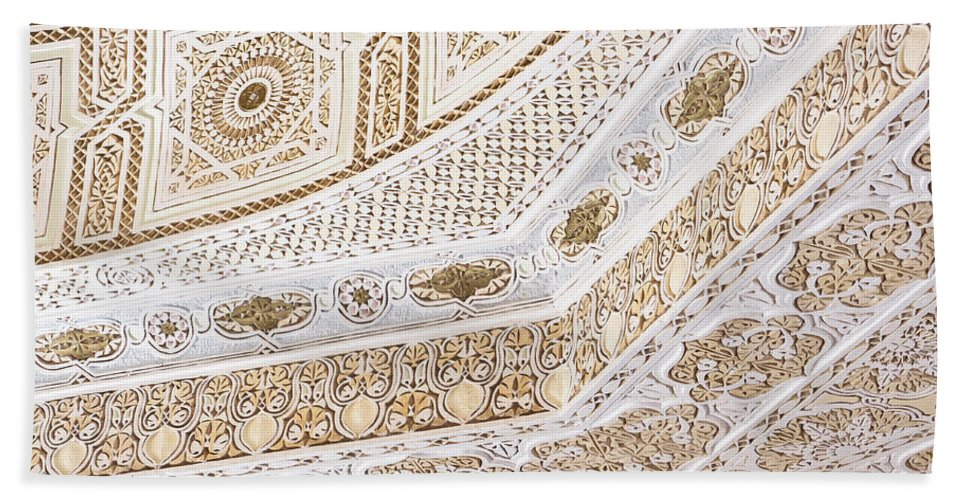 Arabic Beach Towel featuring the photograph Islamic Architecture by Tom Gowanlock
