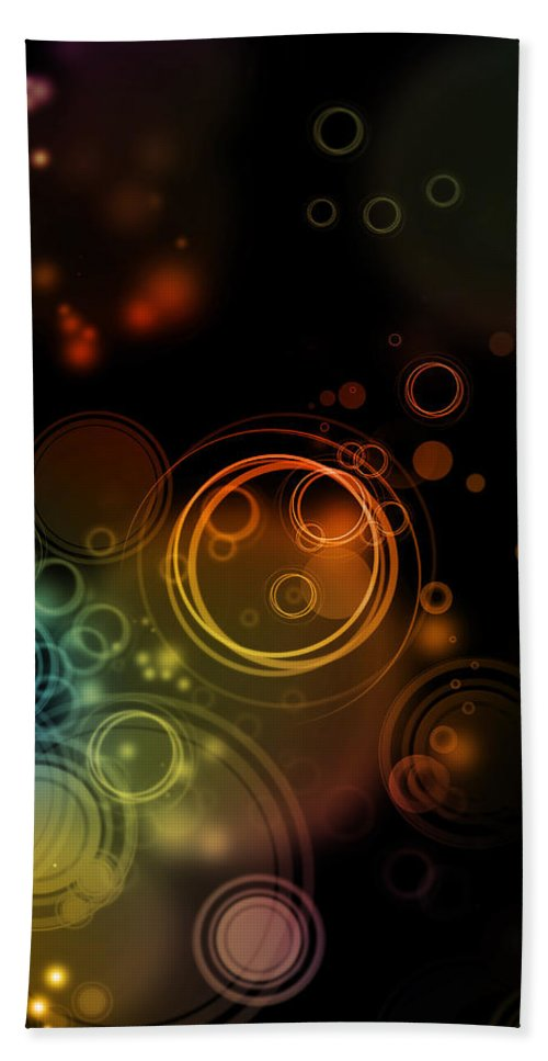 Abstract; Background Beach Towel featuring the photograph Abstract Background by Les Cunliffe