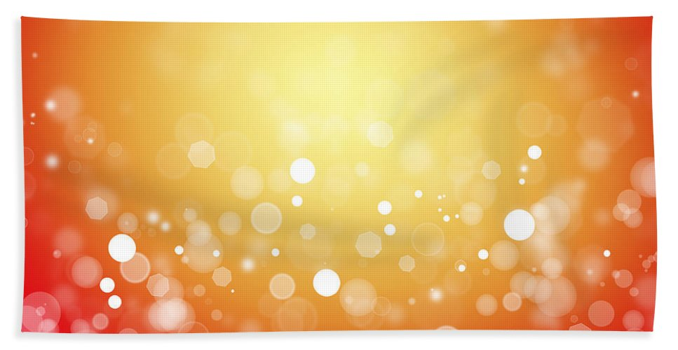 Yellow Beach Towel featuring the photograph Abstract Background by Les Cunliffe