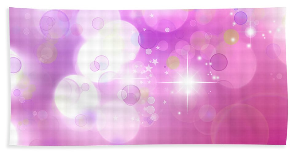 Pink Beach Towel featuring the photograph Abstract Background by Les Cunliffe