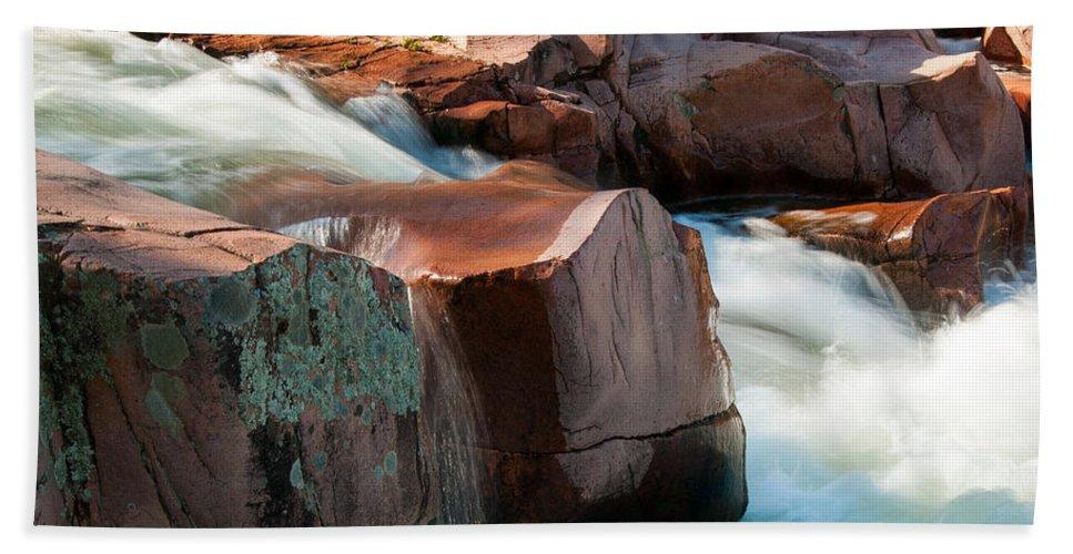 Castor River Beach Towel featuring the photograph Castor River by Steve Stuller