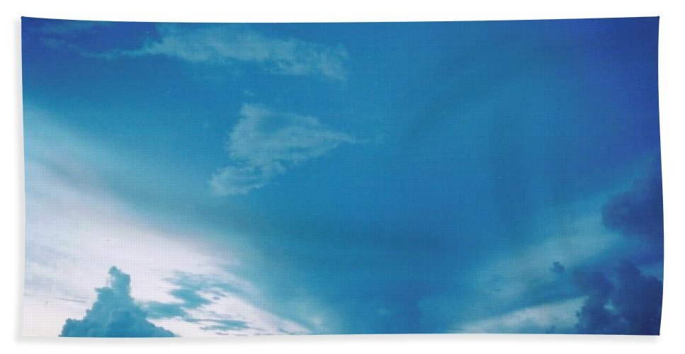 Rare Blue Beach Towel featuring the photograph Sky Scape by Robert Floyd