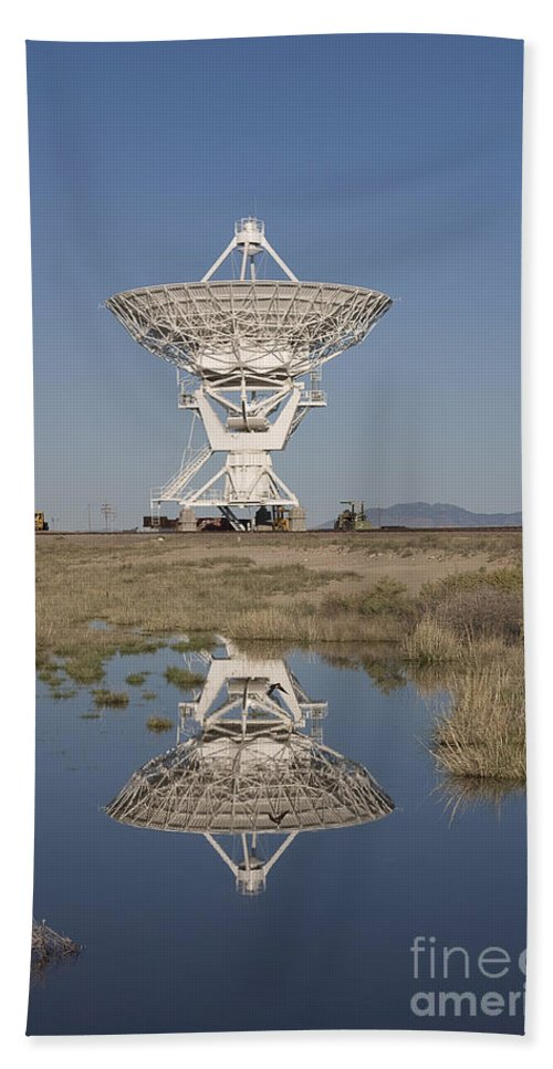 New Mexico Beach Towel featuring the photograph Very Large Array by Steven Ralser