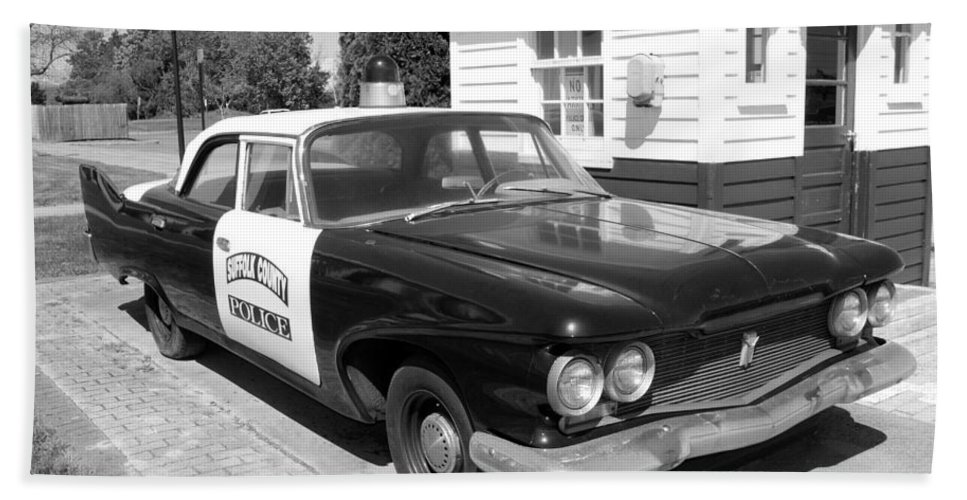 Automobiles Beach Towel featuring the photograph 50th Anniversary by John Schneider