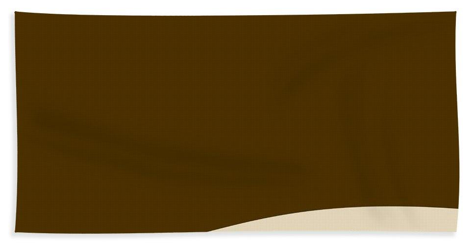 Website Beach Towel featuring the digital art Background Wave by Henrik Lehnerer