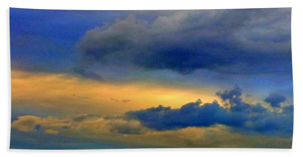 Sky Beach Towel featuring the photograph 62 by Paul Wilford