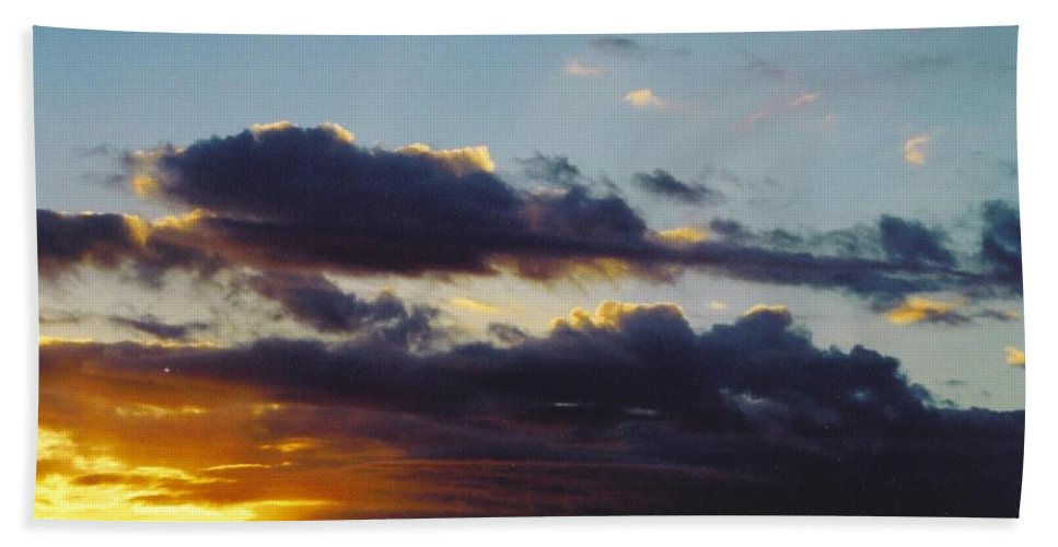 Lighting The Storm Clouds Beach Towel featuring the photograph Sky Scape by Robert Floyd