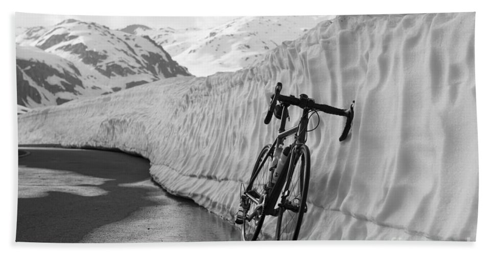 Bicycle Beach Towel featuring the photograph Bicycle by Mats Silvan