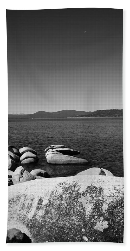 Alpine Beach Towel featuring the photograph Lake Tahoe by Frank Romeo