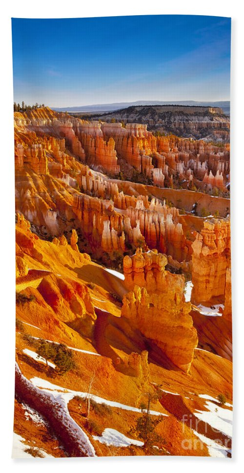 America Beach Towel featuring the photograph Bryce Canyon by Brian Jannsen