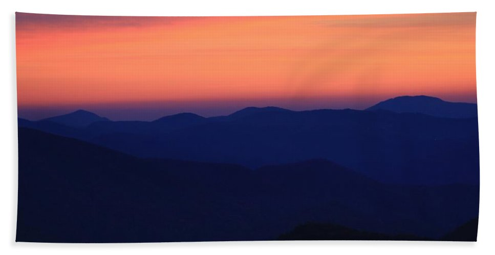Blue Ridge Beach Towel featuring the photograph Blue Ridge Mountains by Mountains to the Sea Photo