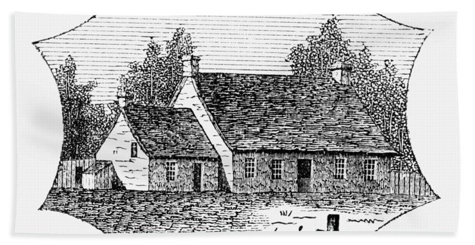 1780 Beach Towel featuring the photograph Washington: Headquarters by Granger