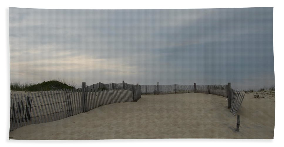 Beach Beach Towel featuring the photograph A Delaware Beach by Christiane Schulze Art And Photography