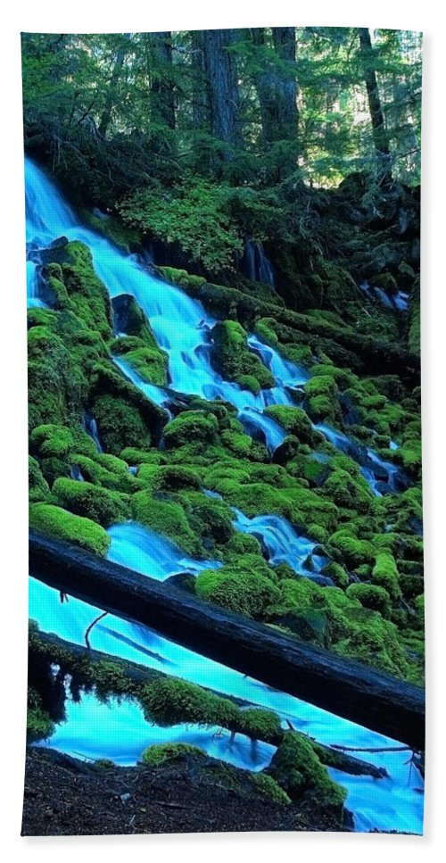 Water Beach Towel featuring the photograph A New Perspective by Teri Schuster