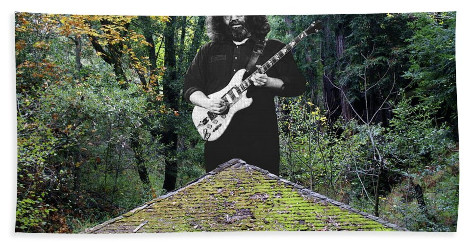 Grateful Dead Beach Towel featuring the photograph A Pyramid Full Of Sound by Ben Upham