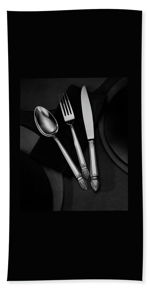 Home Accessories Beach Sheet featuring the photograph A Silver Spoon by Martin Bruehl