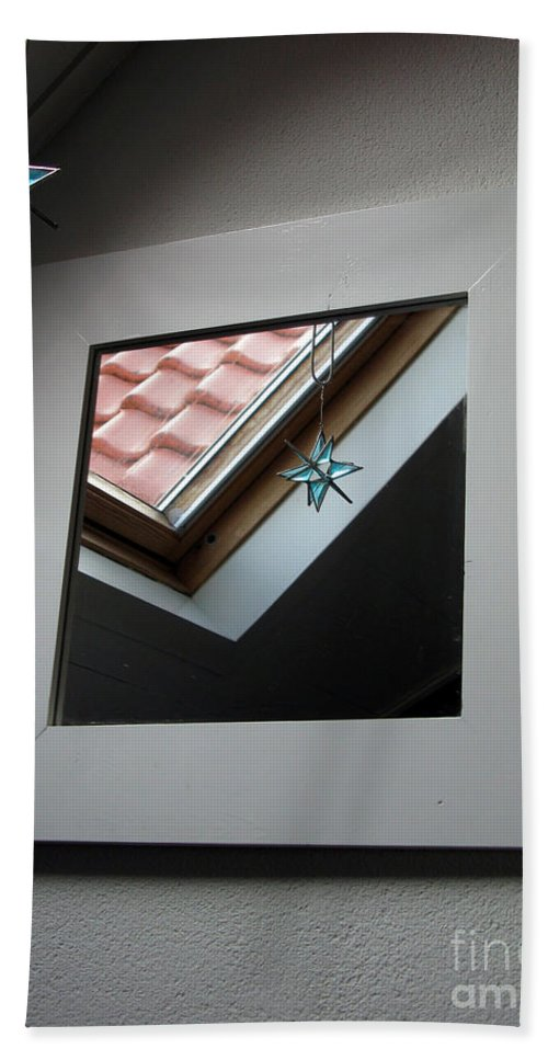Creative Beach Towel featuring the photograph A Window To Parallel World by Ausra Huntington nee Paulauskaite