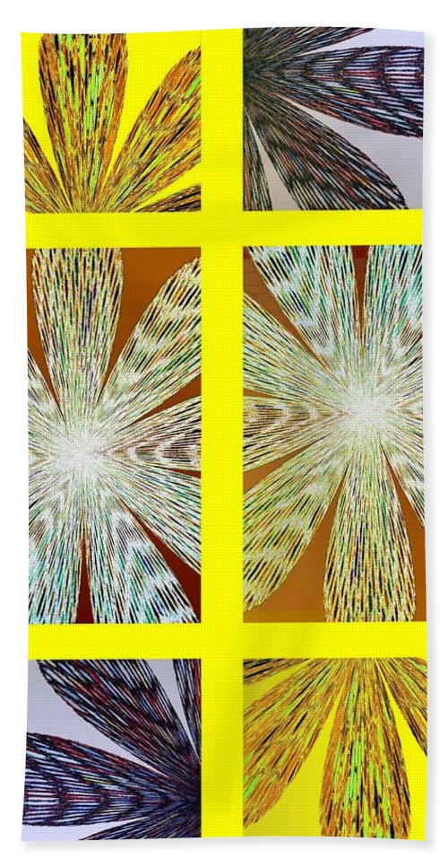 Abstract Fusion 216 Beach Towel featuring the digital art Abstract Fusion 216 by Will Borden