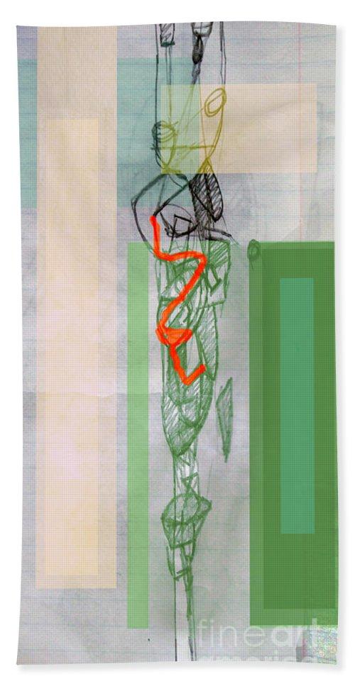 Torah Beach Towel featuring the digital art Self-renewal 8a by David Baruch Wolk