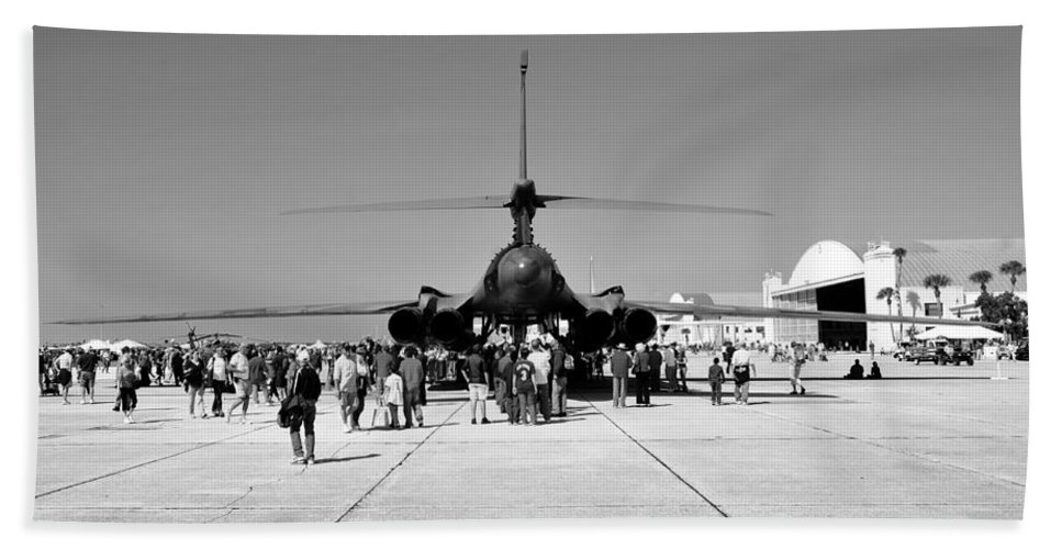 Airshow Beach Towel featuring the photograph Airshow by David Lee Thompson