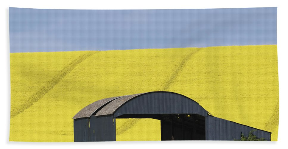 Barn Beach Towel featuring the photograph All Across The Land 4 by Wendy Wilton