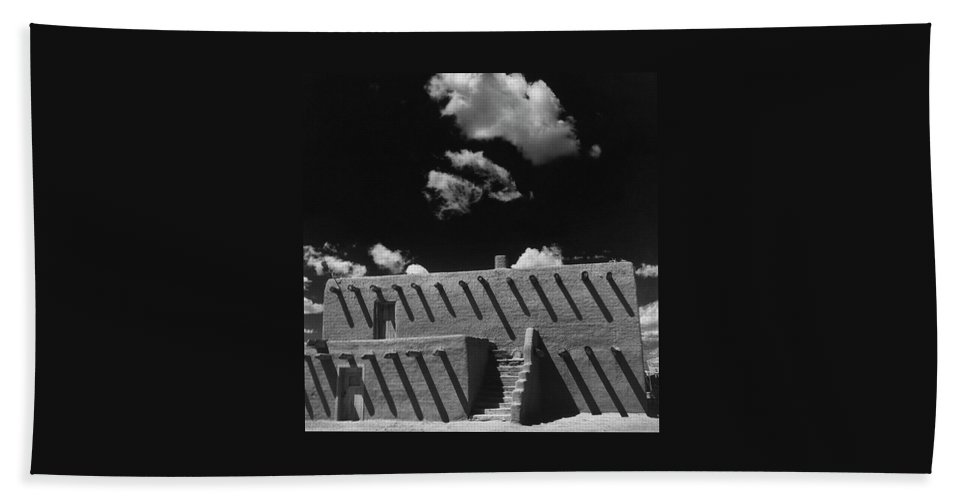 An Adobe House Beach Towel