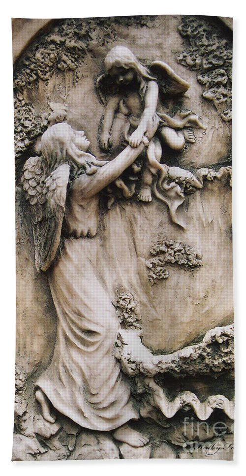 Guardian Angel Holding Baby Angel Guardian Angel With Baby Child