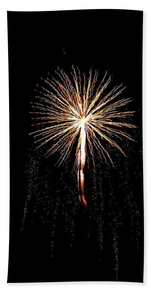 Firework Beach Towel featuring the photograph Angel by Katie Beougher