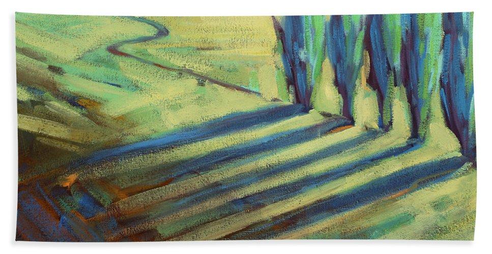 California Beach Towel featuring the painting Aqua by Konnie Kim