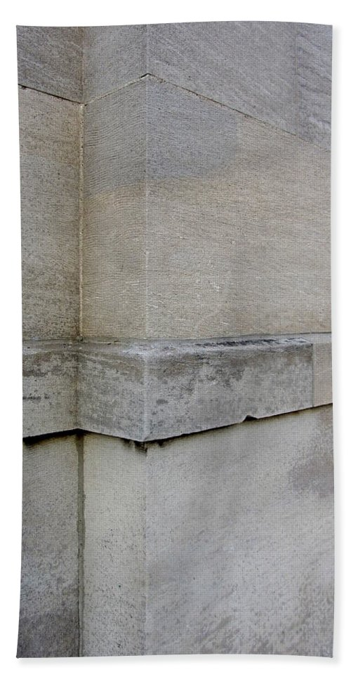 Milwaukee Beach Towel featuring the photograph Architectural Close Up 3 by Anita Burgermeister