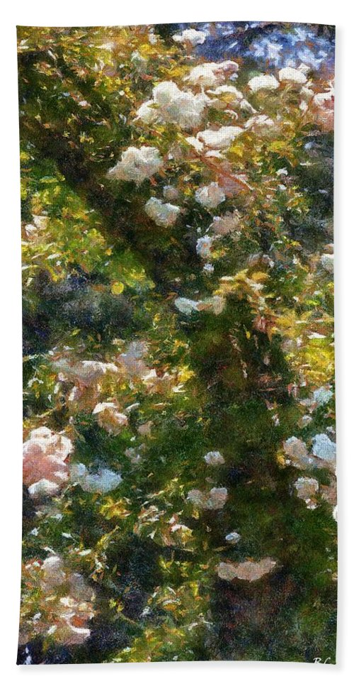 Arch Beach Towel featuring the painting Archway Glorious by RC DeWinter