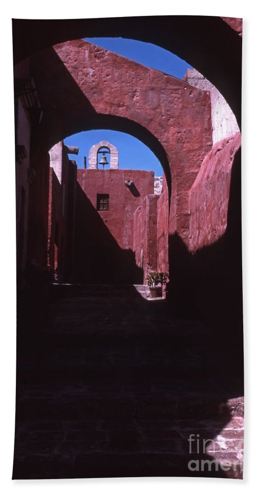 Arequipa Beach Towel featuring the photograph Arequipa  Peru  #12291 by J L Woody Wooden