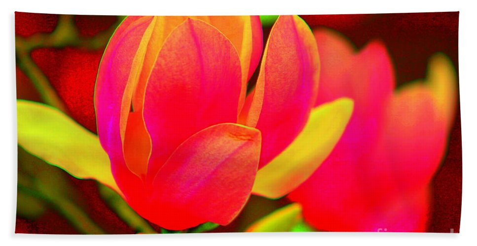 Photography Beach Towel featuring the photograph Artdeco Flower by Cynthia Mask