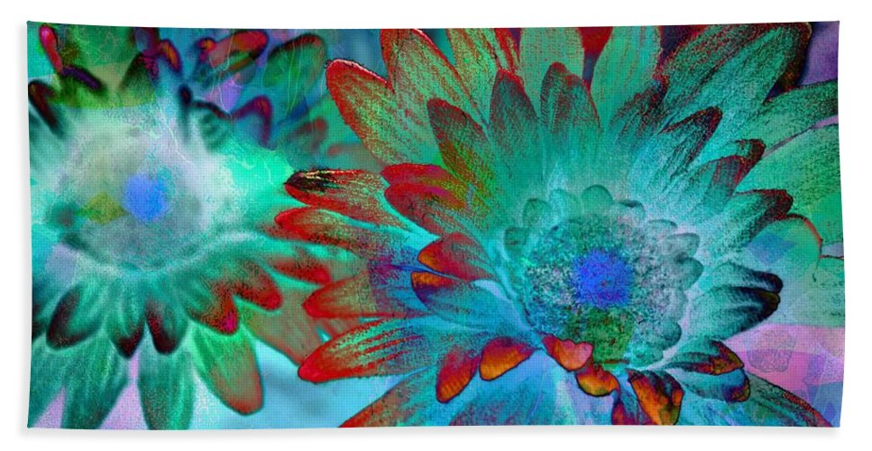 Flowers Beach Towel featuring the photograph Artistic Flowers by Bob Pardue