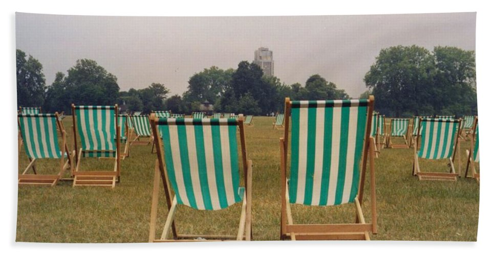 Hyde Park Beach Towel featuring the photograph Assemblage by Christine Jepsen