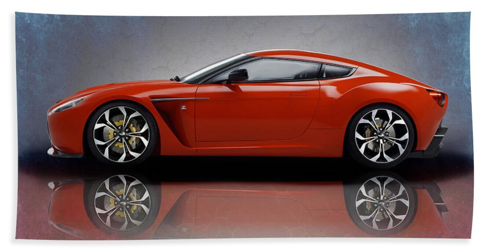 Aston Martin V12 Zagato Beach Towel For Sale By Mark Rogan