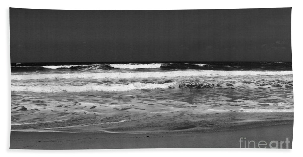 Atlantic Ocean Beach Towel featuring the photograph Atlantic Shore by Anita Lewis