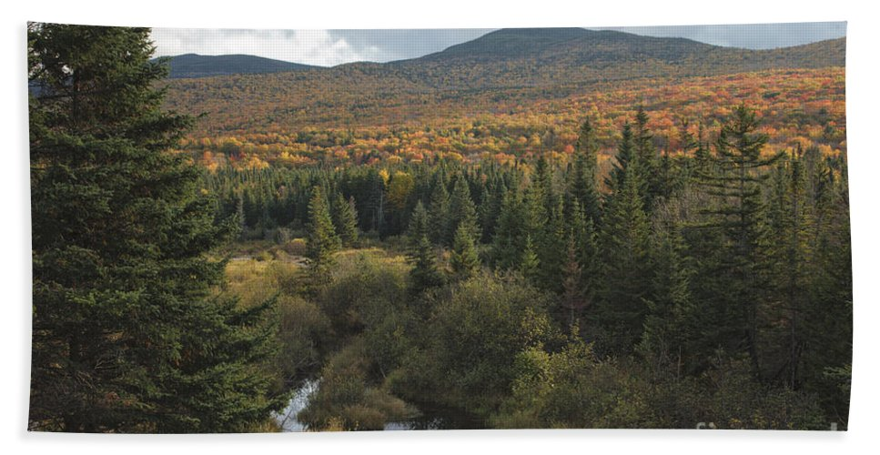 Fall Beach Sheet featuring the photograph Autumn - White Mountains New Hampshire by Erin Paul Donovan