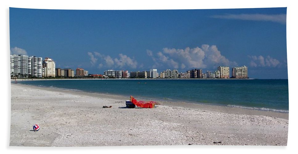 Landscape Beach Towel featuring the photograph Ball by Katie Beougher